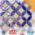 Jy-g-106 фабрика фарфора цветочный узор плитка 3d эффект этаже плитка произведений искусства керамический разнотравья стеклянная мозаика плитка