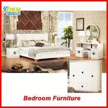 MDF King Size Bedroom Furniture Set