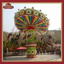 Thrill outdoor playground rides equipment super swing