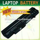 6 cells 11.1v 4400mah Laptop Battery for LG X130,X120,LB3211EE,LBA211EH,LB6411EH,LB3511EE KB11008