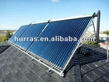 split pressurized heat pipe vacuum solar collector,solar water heater manufacturing
