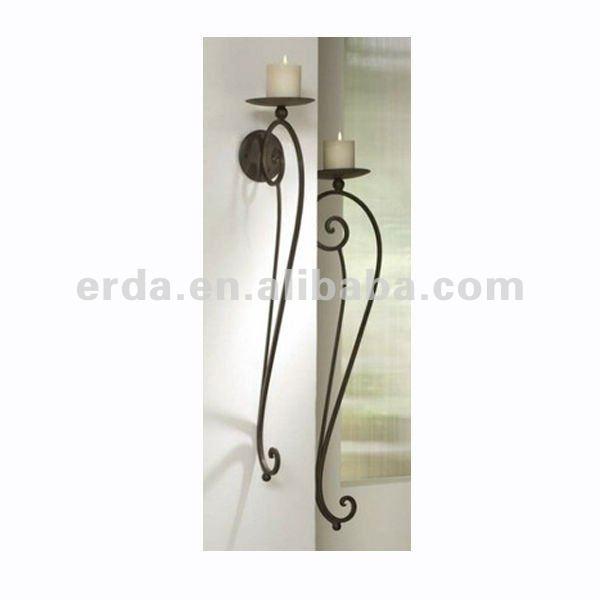 metall wandhalterung eisen rustikal kerzenhalter leuchter produkt id 574507513. Black Bedroom Furniture Sets. Home Design Ideas