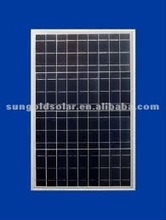 Best price per watt 70w solar panel for street light system