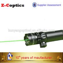 long distance gun sight green laser sighting telescope