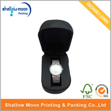Fashion luxury paper box for watch with cushion, branded watch box, sale watch box