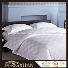 custom 60S jacquard hotel winter white comforters