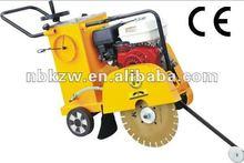 Gasoline engine honda concrete saw cutting equipment with CE