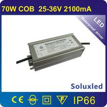 70w COB 2100ma led driver waterproof IP67