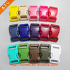 Fashion colorful plastic bag buckle for bags/pets collar /paracords