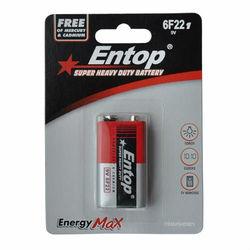 ENTOP brand zinc carbon dry battery #6F22