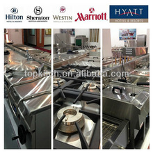 Commercial High Efficiency Heavy Duty Luxury Hotel Restaurant Equipment Supplies