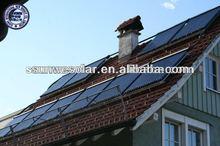 EN12975 SOLAR KEYMARK SRCC Vacuum Tube Heat Pipe Flat Solar Collector for Swimming Pool and Floor Heating