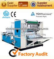 C:CDH-200-6L Drawing Facial Tissue Machine, V Fold Facial Paper Folding Machine