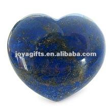 puffy a forma di cuore lapis lazuli pietra 35mm