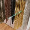 2014 Fashion Design Hanging Decorative Metal Bead Curtain