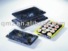 Disposable printed plastic Sushi box