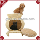 S&D handicraft luxury waterproof durable PE rattan dog kennel