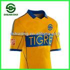 2014 Tigres UANL soccer jersey ,Mexico club football uniform, football soccer jersey