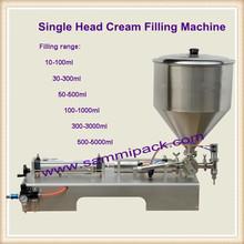 Semi-auto Cream filling machine, Mayonnaise filling machine