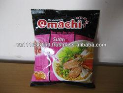 Omachi instant noodles - STEWED PORK RIB WITH FIVE FRUIT FLAVOR