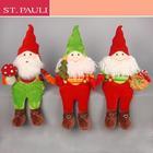 16inch wholesale sitting Plush Santa Claus