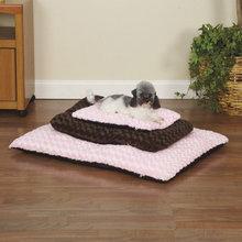 Pet Swirl Plush Dog Bed Cushion