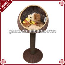 PE rattan Handmade durable waterproof best selling dog products