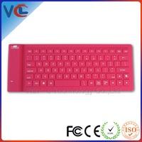 Wireless bluetooth flexible laptop arabic keyboard