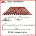 De alta calidad y mejor precio para techos hojas/tejas para techos de canalones