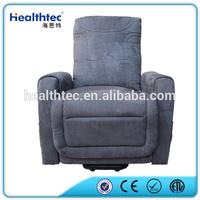 Massage Genuine Leather Reclining Loveseat Sofa