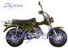 "SKYTEAM T-REX 125cc 4 stroke RV90 on road beach motorcycle (EEC EUROIII EURO3 approval, 5.5-10""/5.5-10"")"