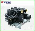 Shangair 34sh série 30 bar, haute pression moyenne pression paintball. compresseur d'air compresseur d'air électrique