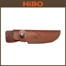 Personalizado faca couro bainha para caça e pesca faca
