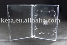 10MM PS Single Translucent CD DVD Cover Jewel Case