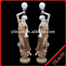 Statues de Jardin, Garden Light Statues of Beautiful lady YL-R412