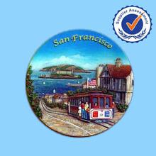 Promotional Wholesale Resin 3D Tourist Souvenir Custom Fridge Magnet