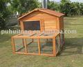 al aire libre conejo casa de madera