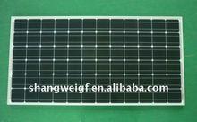 160W monocrystalline solar pv module for solar energy system