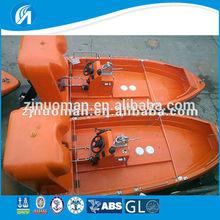 2014 newly 4.5M fiberglass inflatable Rigid Rescue boat