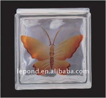 Decorativo blocos de tijolo de vidro / vidro colorido