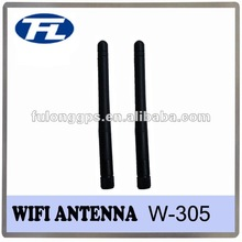 1,000pcs 2.4GHZ Omnidirectional Wi-Fi Router Antenna with SMA Connector and 2 to 3dBi Gain