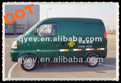DOT Approved Electric mini cargo van for post service Curtis controller