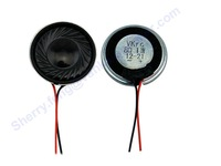 28mm Mylar micro Speakers with 8 Ohms of Nominal Impedance, 1W Power, 500Hz Resonant Frequency