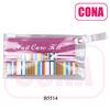 3pcs nail beauty tools in a PVC bag (nail buffer block,nail clipper,emery board)