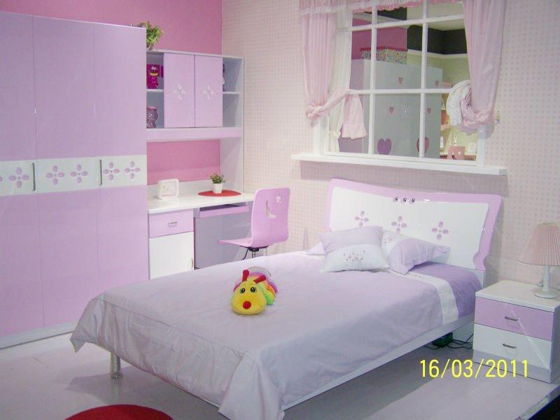 Rosa brilhante estilo moderno conjuntos de quarto de  ~ Quarto Rosa Moderno