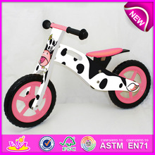 2015 hot sale kids wooden bike,popular wooden balance bike,new fashion kids bike W16C076