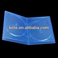 7MM Slim Double Plastic Bluray DVD Case