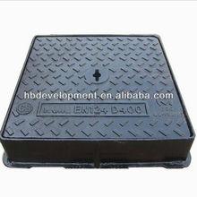 Heavy Duty Square Set Manhole Cover D400