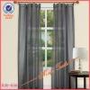 100% Polyester Rod Pocket Jacquard Plain Curtains