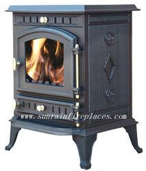 cast iron fireplace/stove